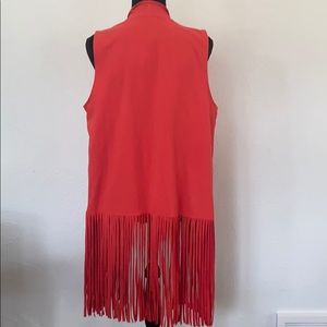 Zenergy by Chico's fringe vest